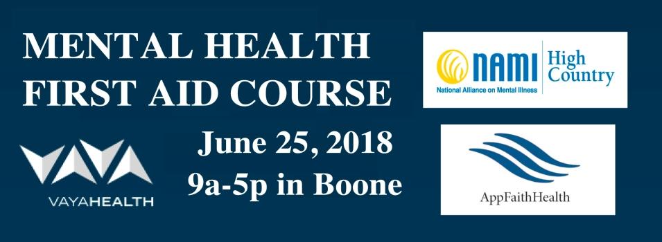 MHFA Boone June 2018